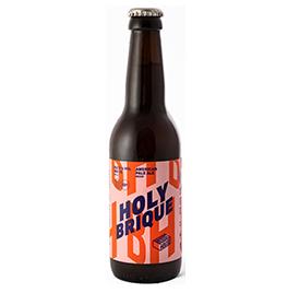 HOLY BRIQUE - bouteille 75cl/cannette 44cl/bouteille 33cl